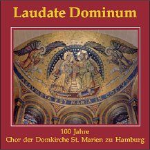 "Cover der Jubiläums-CD ""Laudate Dominum"""